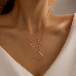 4/$25 Gold geometric necklace, casual